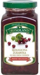 ŻURAWINA DO MIĘS BIO 300 g - RUNOLAND