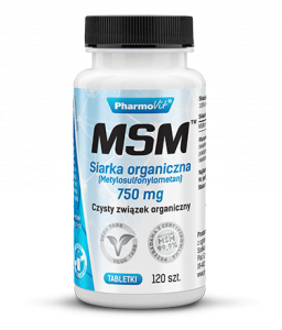 MSM™ Siarka organiczna 750 mg 120 tabl Pharmovit