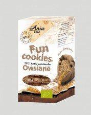 BIO ANIA bio ciasteczka fun cookies OWSIANE 120g