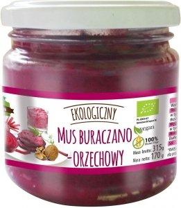 MUS BURACZANO ORZECHOWY BEZGLUTENOWY BIO 170 g - FARMA ŚWIĘTOKRZYSKA