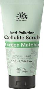 Energetyzujący peeling antycellulitowy Zielona matcha Urtekram