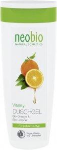 Rewitalizujący żel pod prysznic z bio-pomarańczą i bio-cytryną Neobio