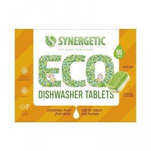 Tabletki do zmywarki biodegradowalne 55 szt.Synergetic