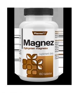 Magnez Cytrynian magnezu  Pharmovit