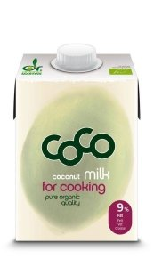 COCONUT MILK - NAPÓJ KOKOSOWY DO GOTOWANIA BIO 500 ml - COCO (DR MARTINS)