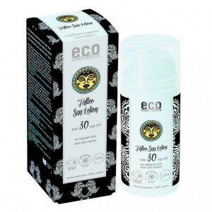 Eco cosmetics emulsja na słońce SPF 30 dla skóry z tatuażami z ekstraktem z noni 100 ml