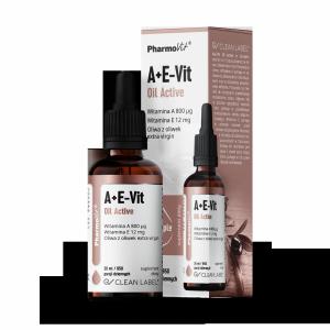 Witamina A+E-Vit Oil Active 30 ml krople Pharmovit