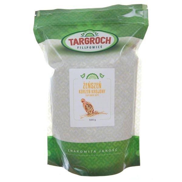 Żeńszeń Korzeń Krojony 250 g Targroch