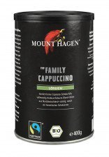 KAWA CAPPUCCINO FAMILY FAIR TRADE BIO 400 g - MOUNT HAGEN