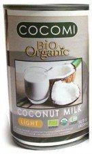 COCONUT MILK - NAPÓJ KOKOSOWY LIGHT W PUSZCE (9% TŁUSZCZU) BIO 400 ml - COCOMI
