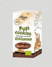 BIO ANIA bio ciasteczka fun cookies ORKISZOWE 120g