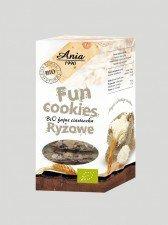 BIO ANIA bio ciasteczka fun cookies RYŻOWE 120g