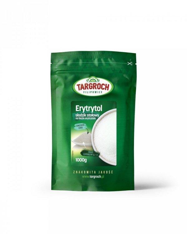 Erytrol 1 kg Słodzik Stołowy Na Bazie Erytrytolu - Targroch