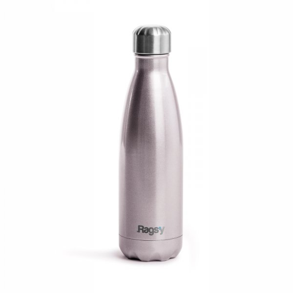Rags'y fashion bottle 500ml | Silver Rose