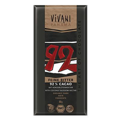 VIVANI bio czekolada gorzka 92% KAKAO 80g