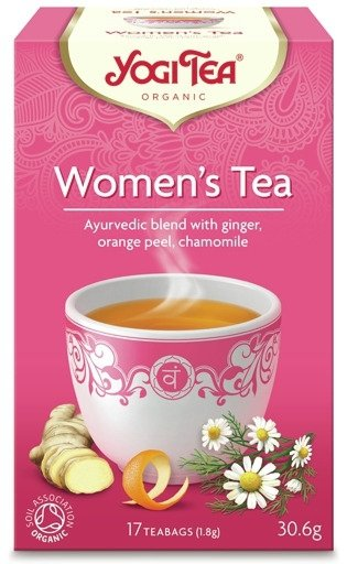 Herbatka dla Kobiety Womans BIO (17 x 1,8 g) 30,6 g - YOGI TEA