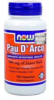 NOW PAU D'ARCO 500MG, 100 KAPS.
