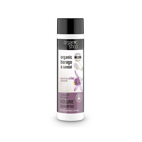 ORGANIC SHOP skarby SRI LANKI szampon 280ml