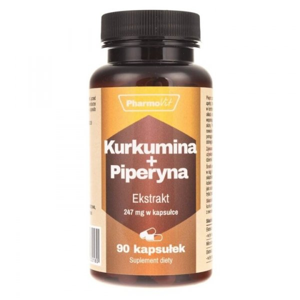Pharmovit Kurkumina + Piperyna x 90 kaps