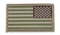MIL-SPEC MONKEY - US Flag Reversed - Multicam