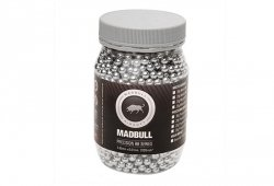 MadBull - Kulki aluminiowe 0,30g 2000szt. - butelka