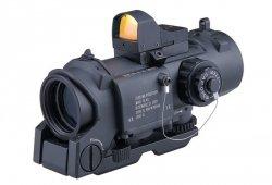ACM - Luneta 4x32 E z kolimatorem Reflex Sight - czarna