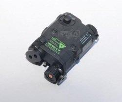 FMA - Replika AN/PEQ 15 z celownikiem laserowym - czarny