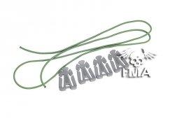 Zestaw klipsów mocujących - foliage green