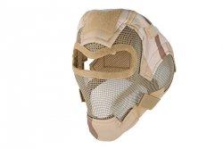 Pełna maska stalowa V7 - 3 color desert