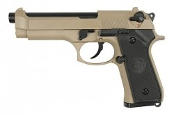 WE - Replika Beretta M92 TAN