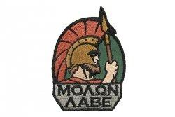 Naszywka MOLON LABE - Full Color