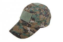 Taktyczna czapka z daszkiem - digital woodland