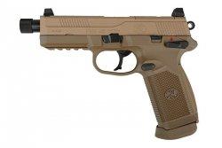 Replika pistoletu FN FNX .45 - tan