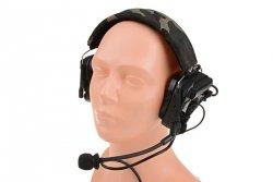 Replika ochronników słuchu wzorowanych na COMTAC IV - czarny