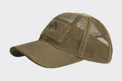 Czapka Baseball Mesh - coyote brown