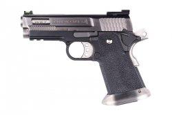 Replika pistoletu Hi-Capa 3.8 Force Brontosaurus - srebrna