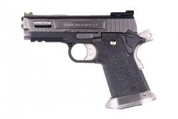 Replika pistoletu Hi-Capa 3.8 Force Velociraptor - srebrna