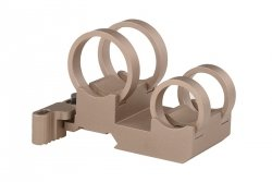 Montaż QD dwu -tubusowy LaRue Tactical Double Stack Light Mount (1.040 i 0.760) - Tan