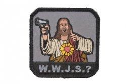 Naszywka WWJS? - full color