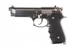 Replika pistoletu M92F - Chrome Stainless