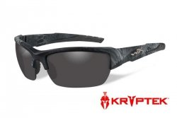Okulary Wiley X® VALOR - Polarized Smoke Grey / Kryptek Typhon™