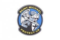 Naszywka Saint Michael Modern PVC - FullColor
