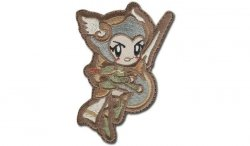 MIL-SPEC MONKEY - Morale Patch - Cute Valkyrie - Arid