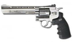 ASG - Dan Wesson 6'' Revolver - Srebrny - 17115