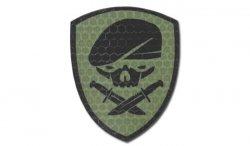 Combat-ID - Naszywka Medal Of Honor Skull - OD - Gen I