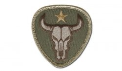 MIL-SPEC MONKEY - Morale Patch - Bull Skull - Multicam