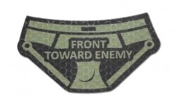 Combat-ID - Naszywka Front Toward Enemy Pants - OD - Gen I