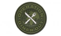 JTG - Naszywka 3D - Operation Diner Out - Forest
