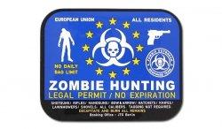 JTG - Naklejka - Zombie Hunting Permit