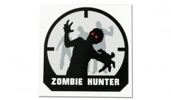 MIL-SPEC MONKEY - Naklejka - Zombie Hunter